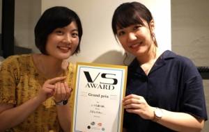 左:東京学芸大学 多田佐和子さん/右:長岡造形大学 桜井成美さん