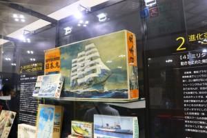 帆船プラモ。昔おもちゃ屋の上のところに飾られていたいつか欲しいと思っていたアイテム