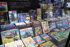 ゴジラ、ウルトラマン、ナウシカなどの人気アニメプラモ