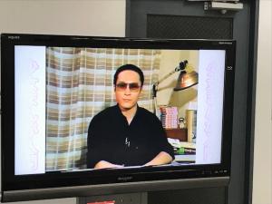 魔夜峰央氏のビデオでは漫画家を目指す人へのメッセージなどの内容も。