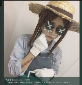 えなこtwitterより@enako_cos