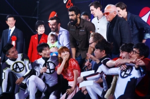 始終興奮しまくりだったしょこたんこと、中川翔子
