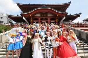 世界各地から名古屋に集結したコスプレイヤーたち