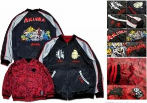 悪魔将軍 リバーシブルスーベニアジャケット ©YUDETAMAGO / ©bambambigelow.