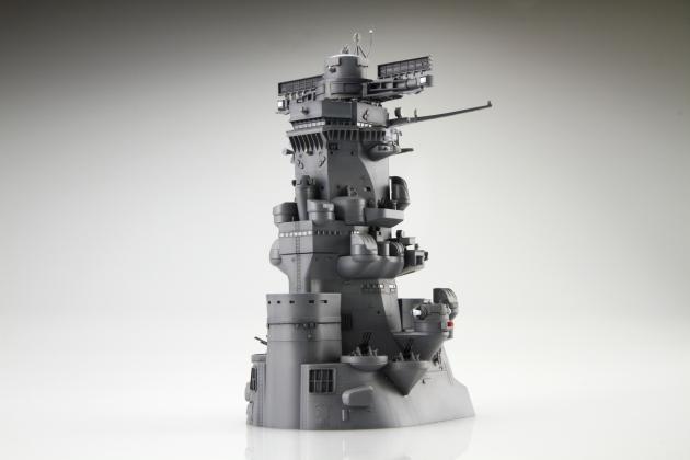 【プラモ】戦艦大和の艦橋のみをクローズアップ、12月25日に発売!