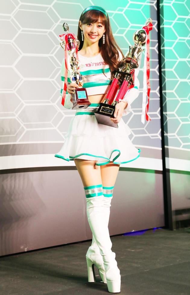 グランプリに輝いた林紗久羅さん