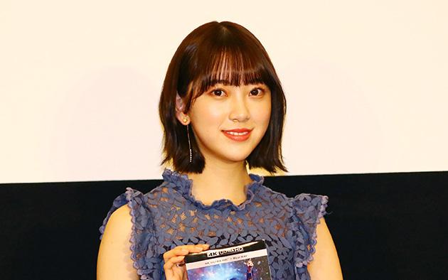 『第11回日本ブルーレイ大賞』のアンバサダーの堀がスペシャルゲストとして出席