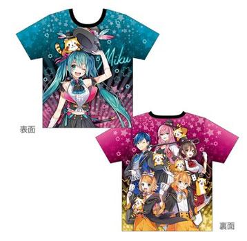 フルグラフィックTシャツ(M/L/XLサイズ)5,500円(税抜)
