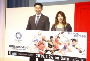 セガゲームス里見会長(左)と吉田