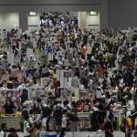 東京ビッグサイト(東京と江東区)などで開かれた「コミックマーケット96」