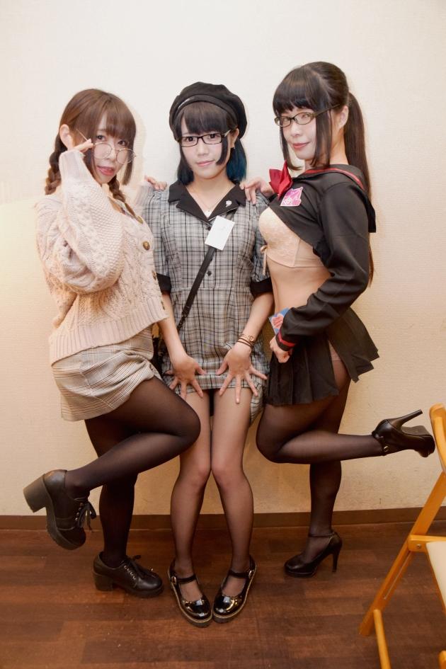 左から、天(ちょん)さん、Uta-chanさん、猫沢みさとさん