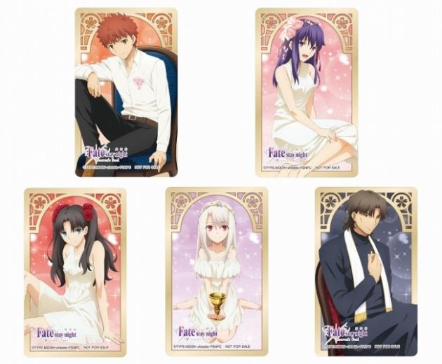 描き下ろしクリアカード(全5種)